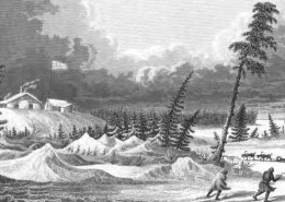 First Recorded Hockey Game in the Northwest Territories