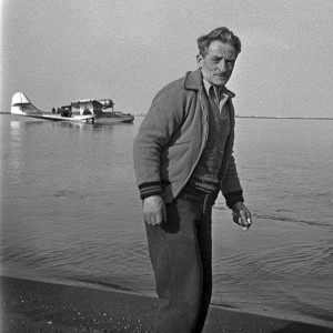 At this time, Lorenz A. Learmonth was the Western Regional Manager for the H.B.C., September, 1947 (Osborne fonds / NWT Archives N-1990-006: 0216)