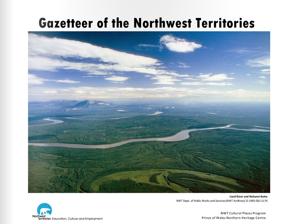 Gazetteer of the Northwest Territories
