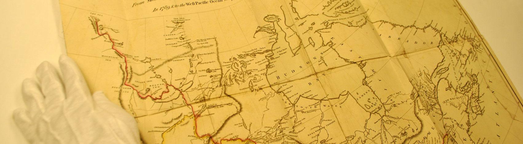 Slide: Old Map