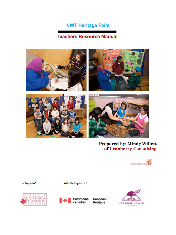NWT Heritage Fair Teacher's Resource Manual (2009)