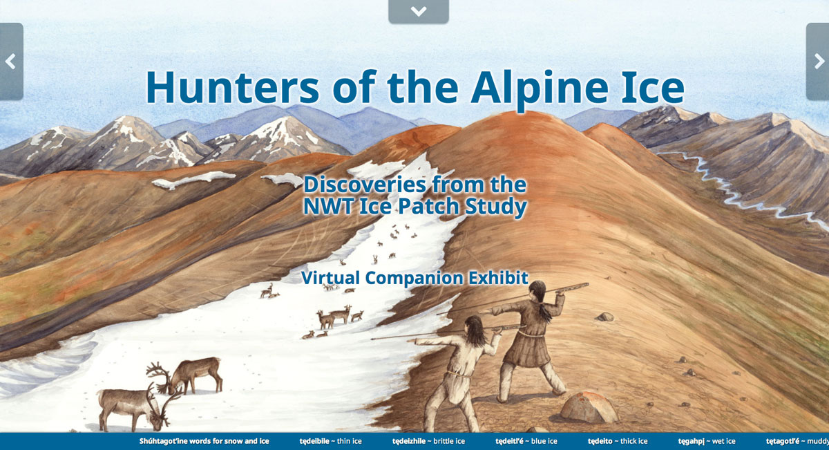 NWT Ice Patch Study Virtual Exhibit