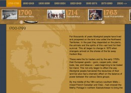 NWT Historical Timeline