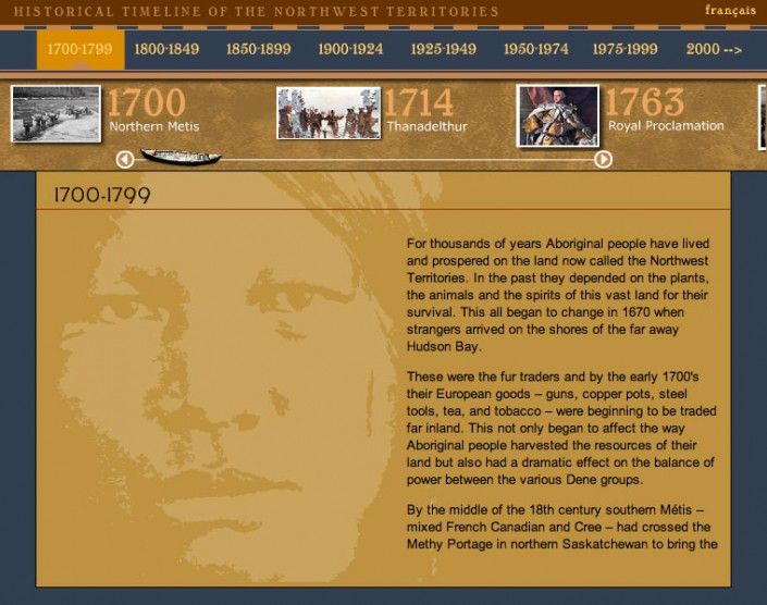 NWT Historical Timeline