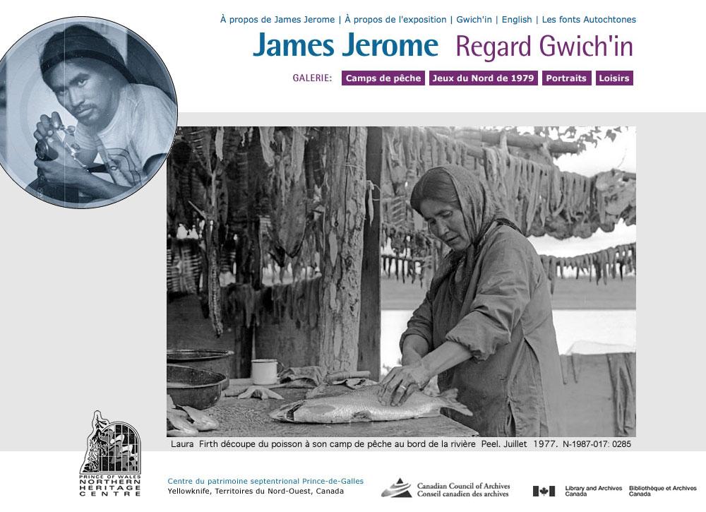James Jerome : Regard Gwich'in
