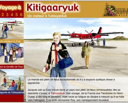 Voyage en ligne à Kitigaaryuk