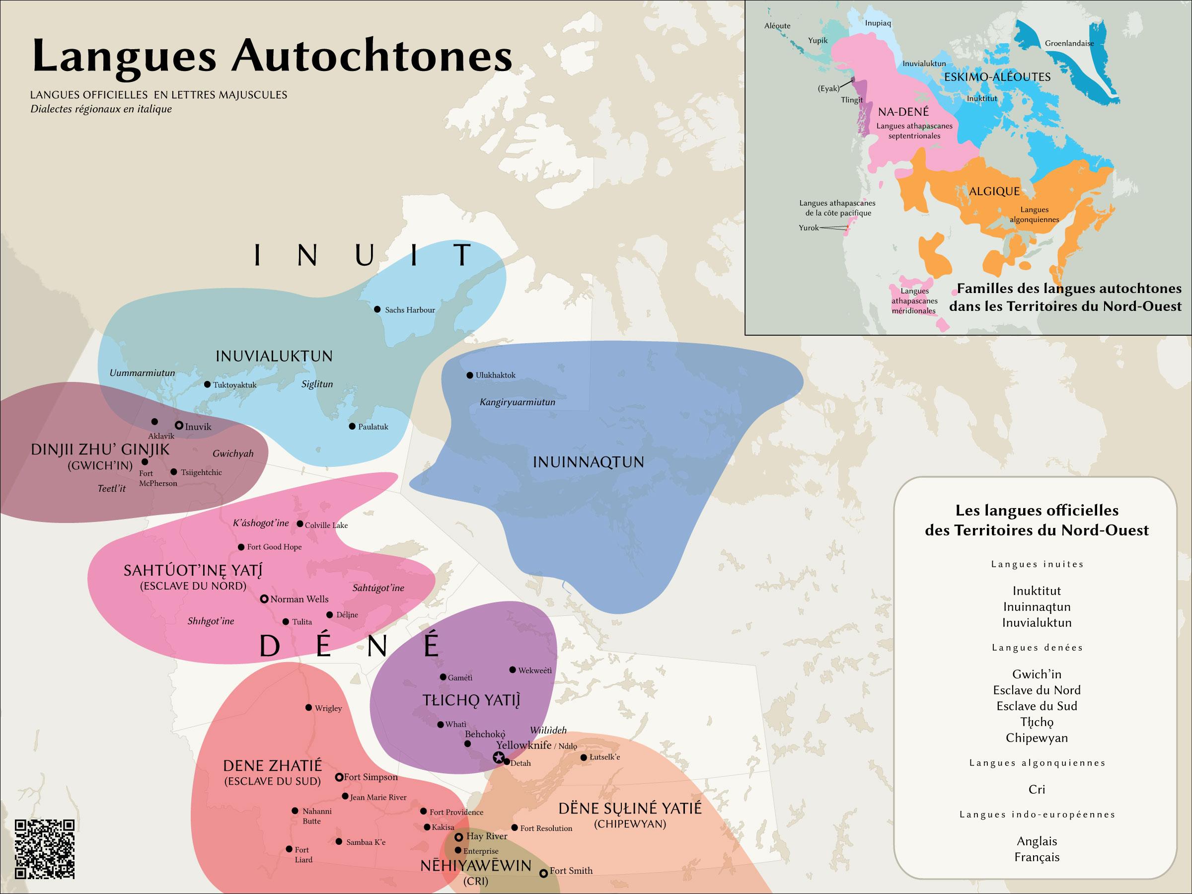 Carte des langues 2.0