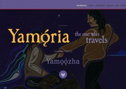 Yamǫ́rıa: the one who travels
