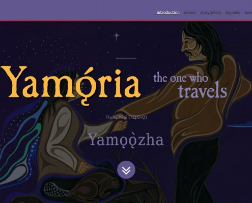 Yamǫ́rıa: the one who travels