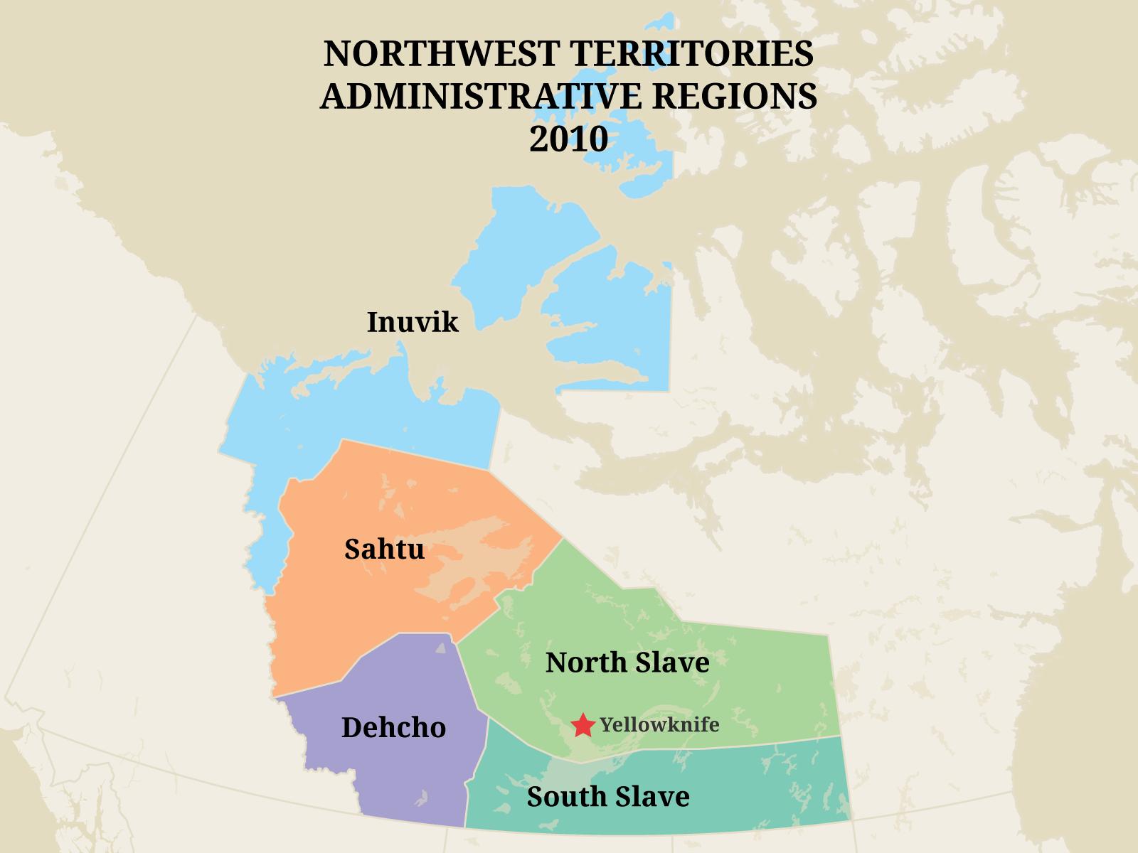 Territorial Evolution of the Northwest Territories
