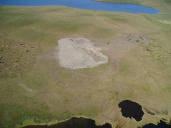Encana's Umiak N-05 well site and sump.