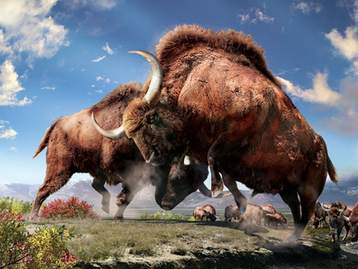 Ice Age Bison Discovery: Our frozen past and thawing future