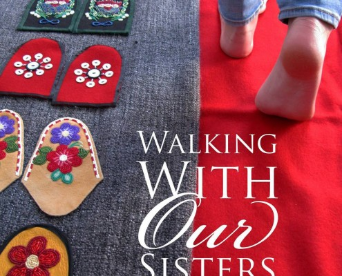Walking With Our Sisters Exhibit Opening