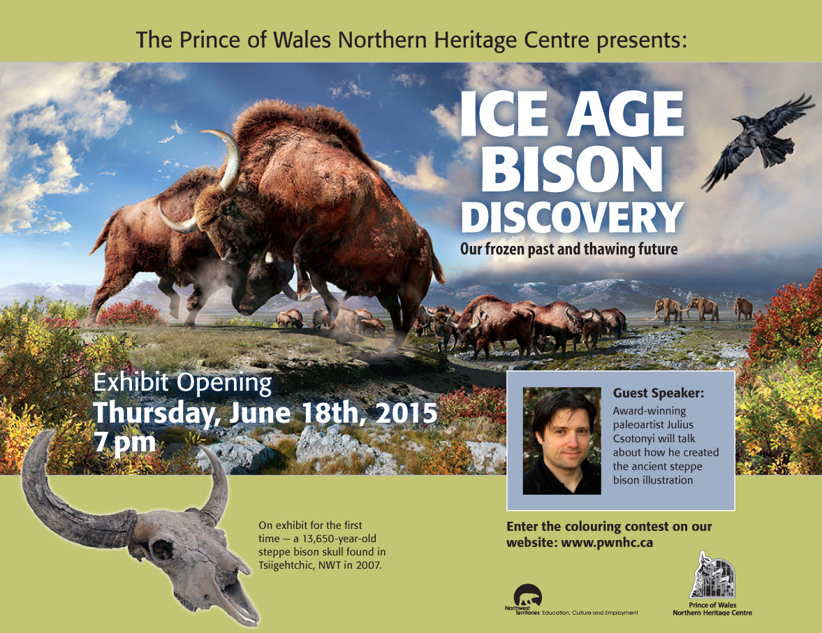 Ice-Age-Bison-Discovery-Poster