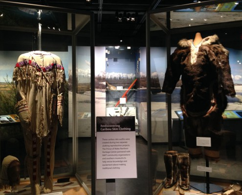 Rediscovering  Caribou Skin Clothing