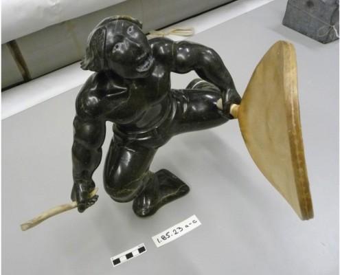 Sculpture, David Atchealak, Pangnirtung c. 1985