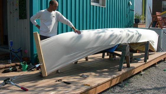 Canoe Recanvassing